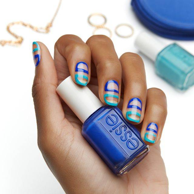 nail art between the lines